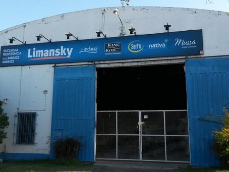 Renovamos el letrero de LIMANSKY Resistencia