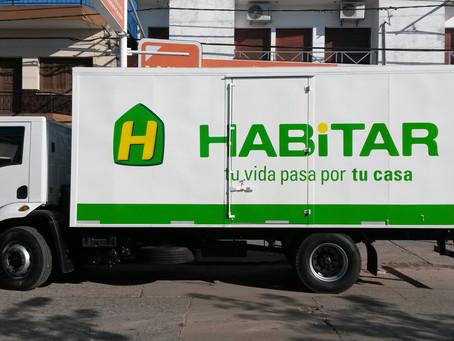 HABITAR Renueva la gráfica en sus unidades de logística.