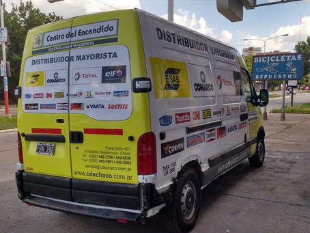 Rotulación Vehicular para CENTRO DEL ENCENDIDO.