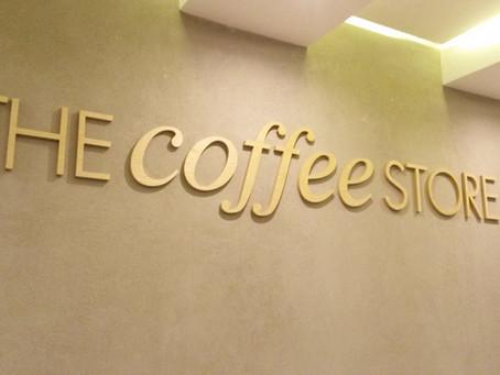 Letras de Madera para THE COFFEE STORE Resistencia