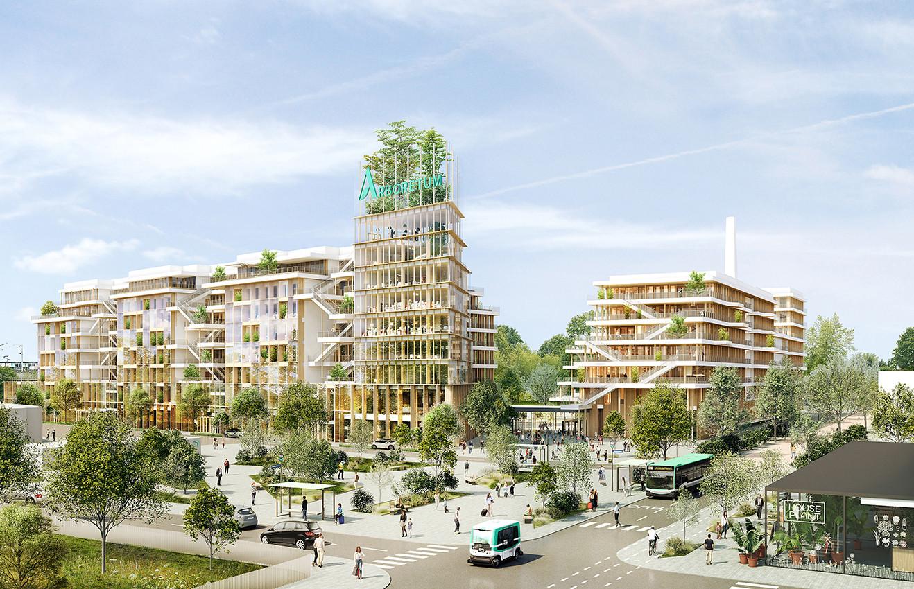 Arboretum, Nanterre - La Défense