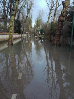 Crue de la Seine, Rueil Malmaison 01 201