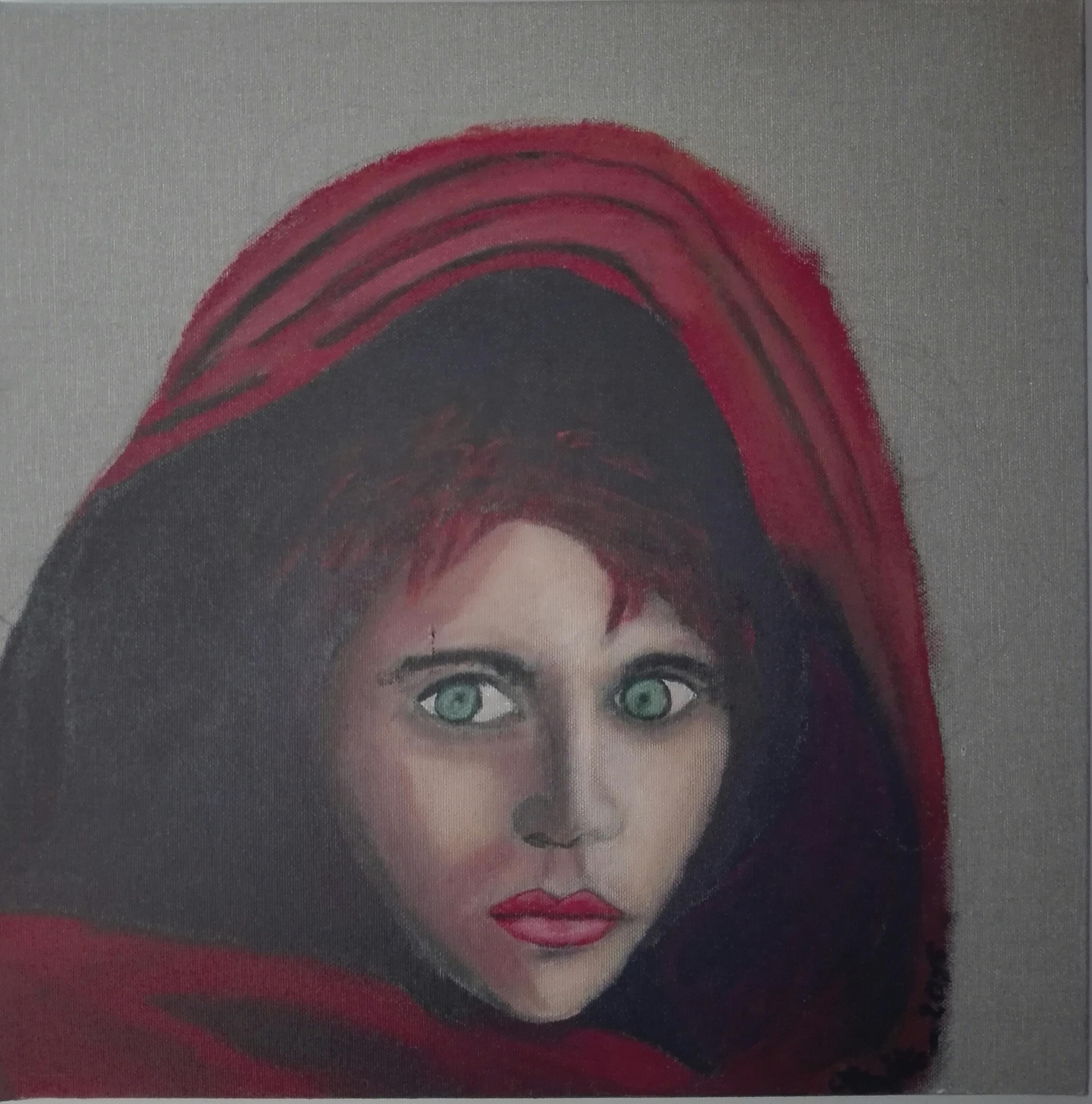 Regard_d'après__l'afgane__de_S._McCurry_