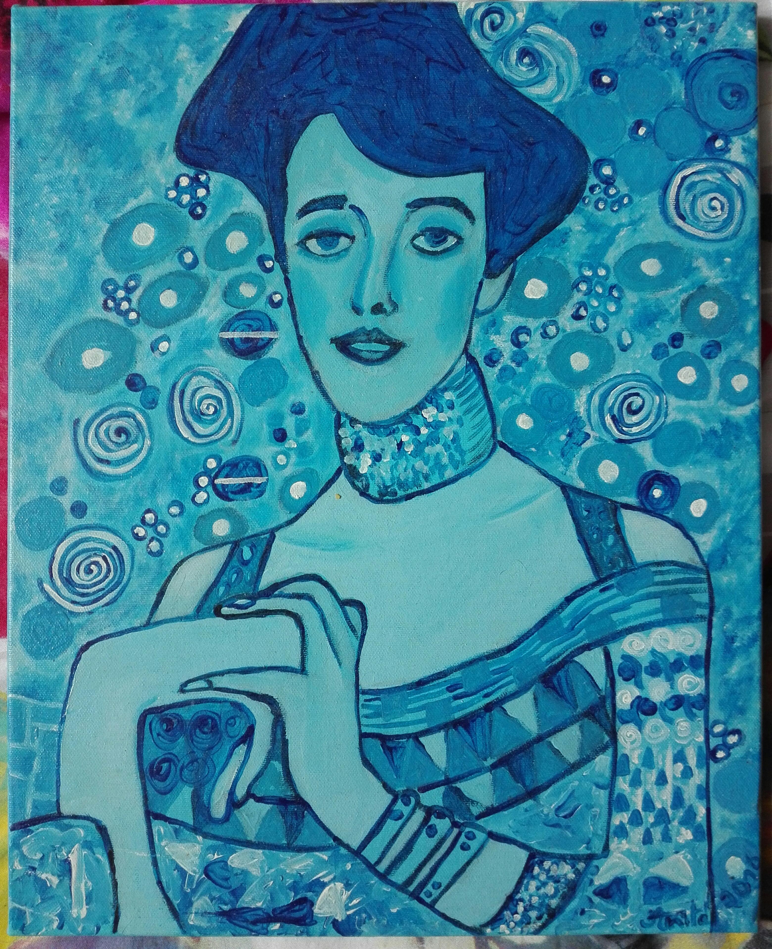 Effet_de_bleu_d'après__Adèle__de_G._Klimt