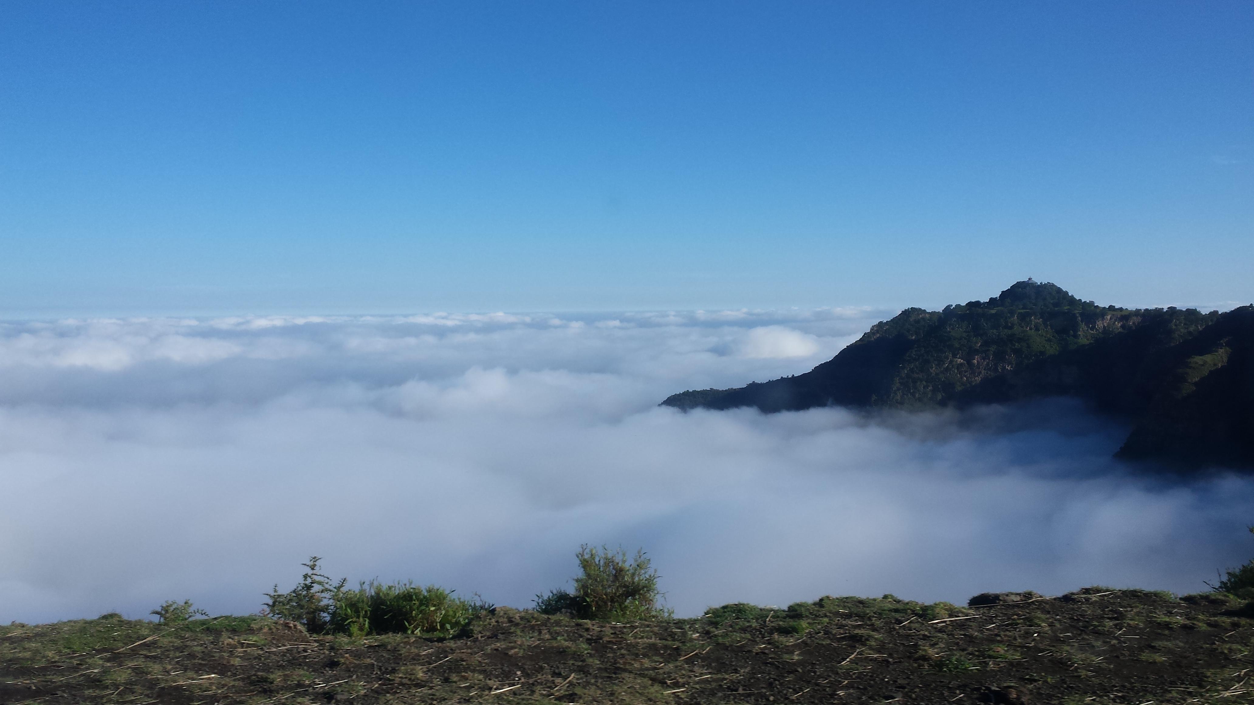 Ethiopie dans les nuages