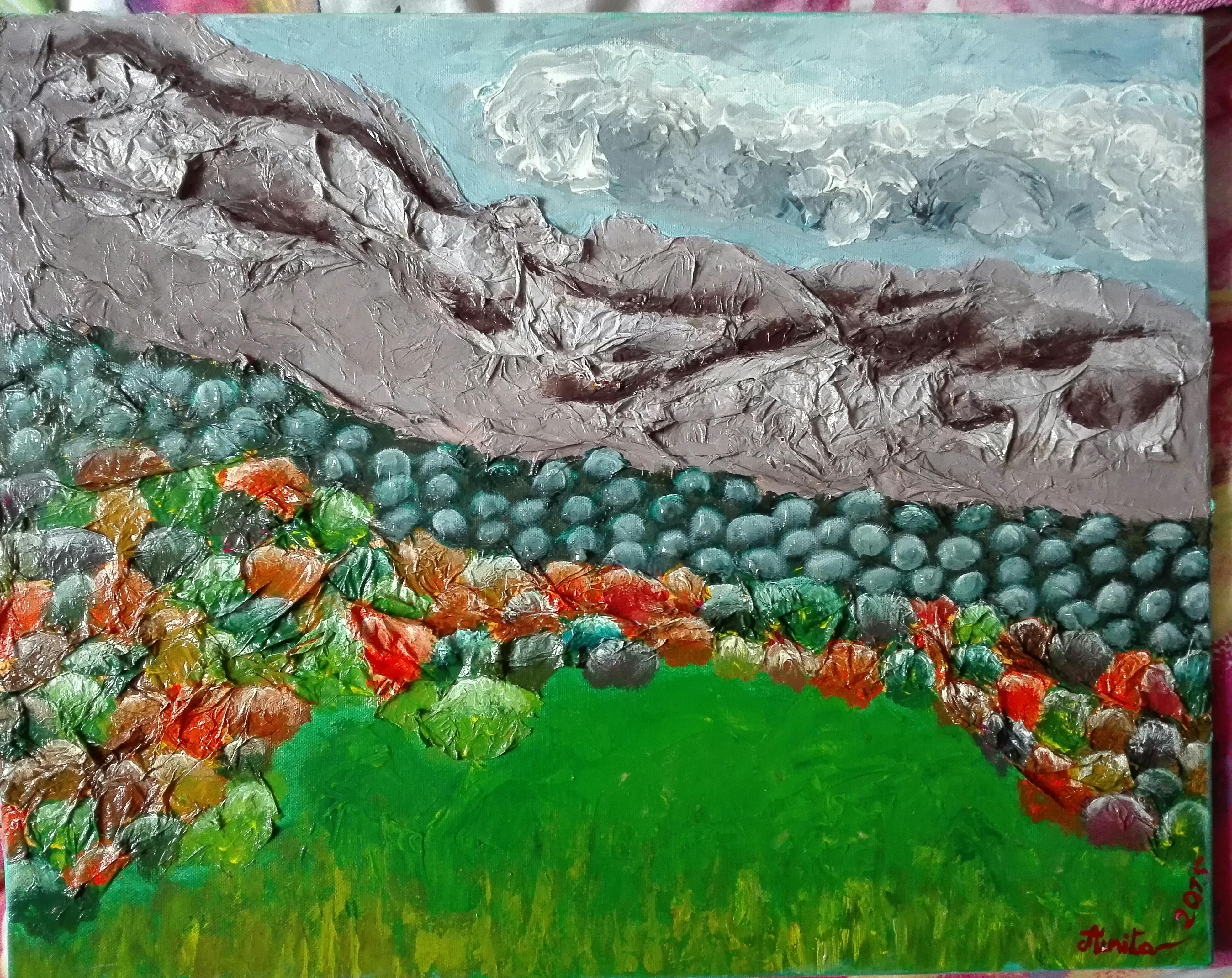 Paysage Alpin d'automne