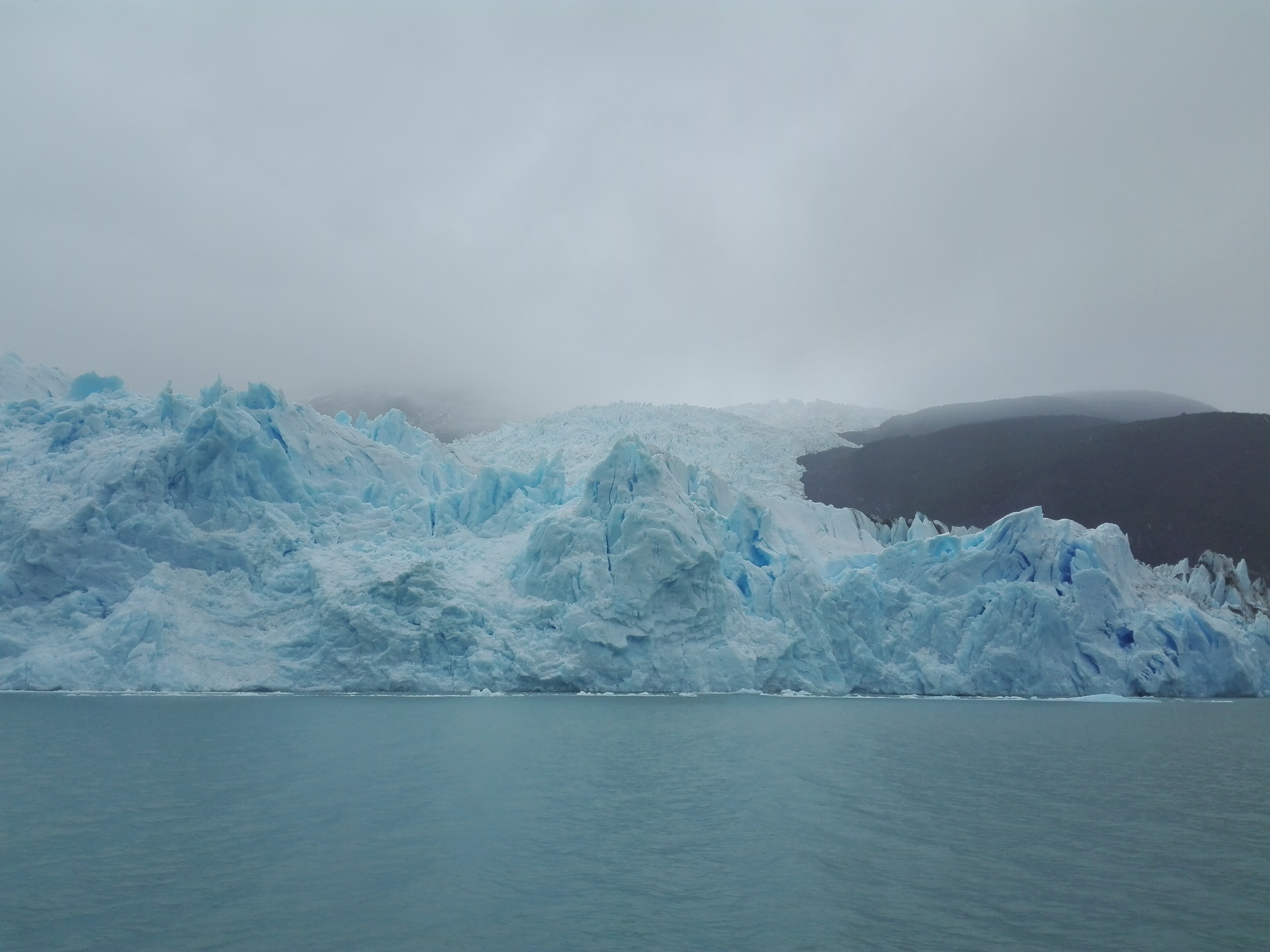 Argentine lago Argentino glacier Upsala.