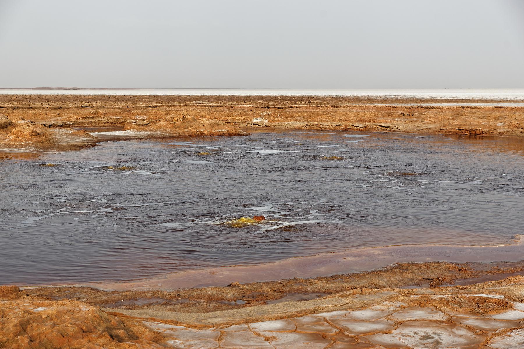 Ethiopie Dallol lac de sel 3
