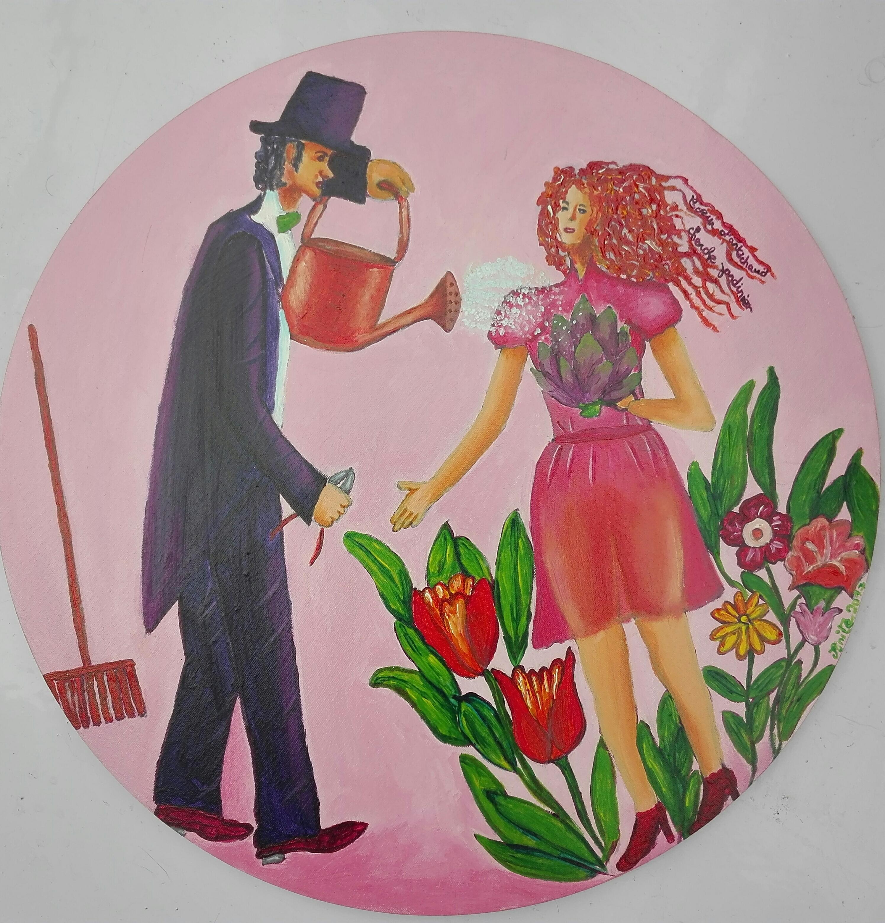 Coeur d'artichaud cherche jardinier