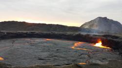 Ethiopie Erta Ale lac de lave