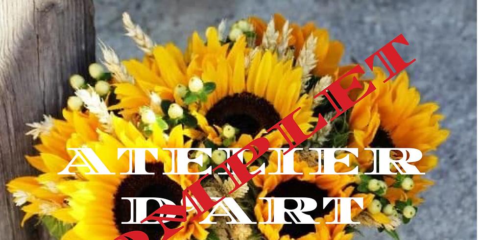COMPLET: Atelier d'art floral: Soleil à la maison...