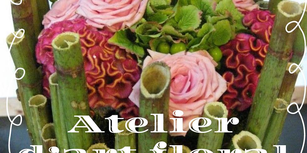 Atelier d'art floral: Montage avec du polygonom