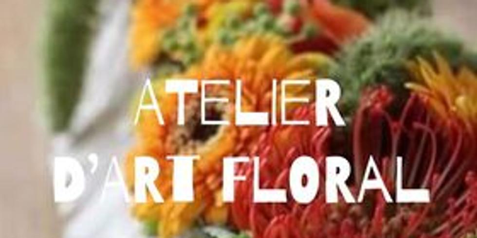 COMPLET :Atelier d'art floral: Le milieu de table d'automne