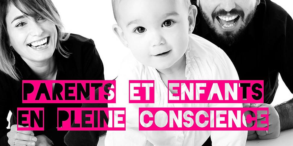 Parents et enfants en pleine conscience