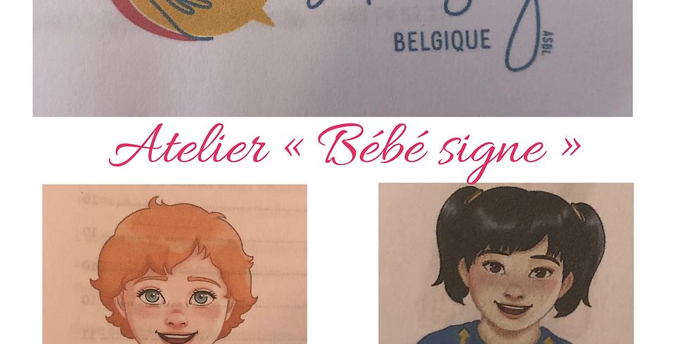 """Atelier """"Bébé signe"""": communiquez facilement avant qu'il puisse parler"""