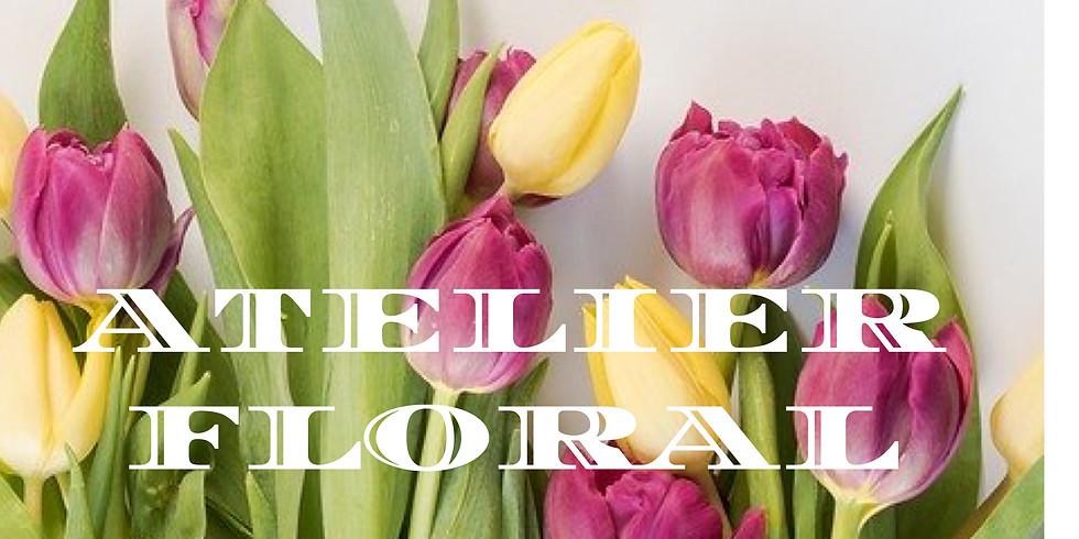 Atelier d'art floral: Tulipes en folie....