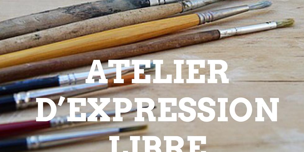 Atelier d'expression libre : LA PALETTE COLLECTIVE (1)