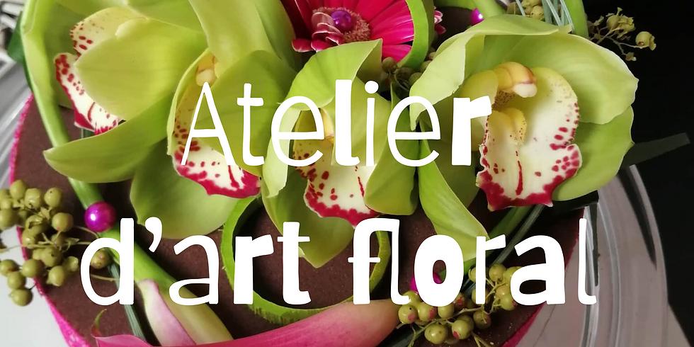 Atelier d'art floral: Tarte florale
