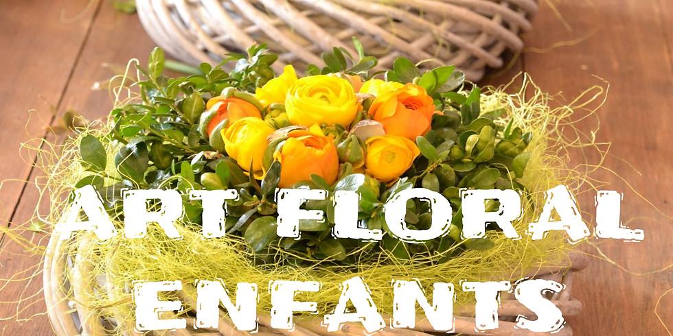 Atelier d'art floral ENFANT : Montage nids de Pâques