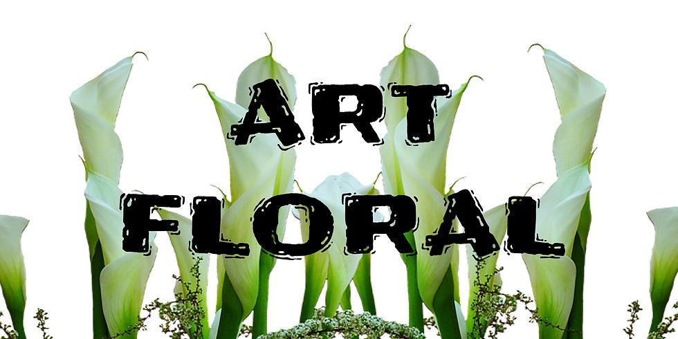 Atelier d'art floral: En hauteur avec les Callas...