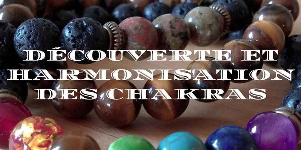 Découverte et harmonisation des CHAKRAS