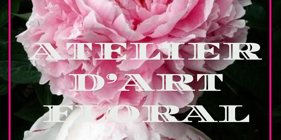 Atelier d'art floral: Montage l'été en fleurs...