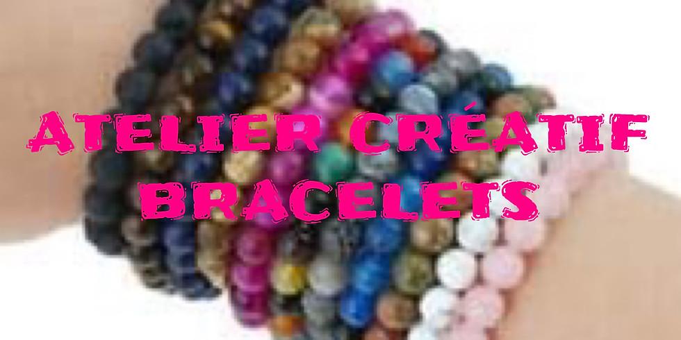 COMPLET: Atelier créatif : Bracelets