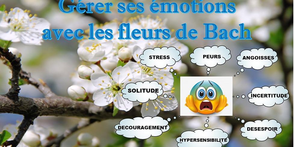 GERER SES EMOTIONS AVEC LES   FLEURS DE BACH