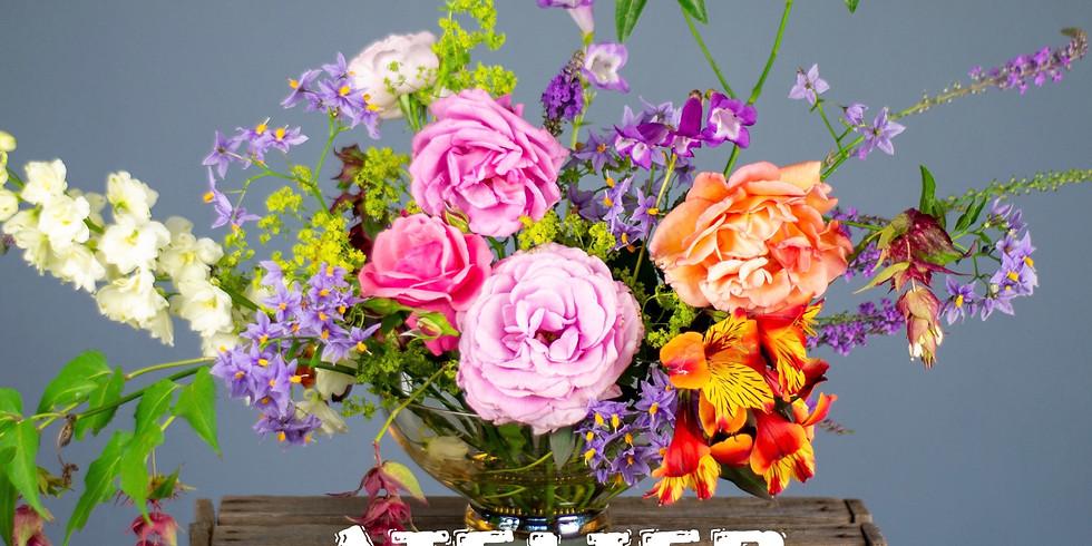Atelier d'art floral: Ardoise en couleur....