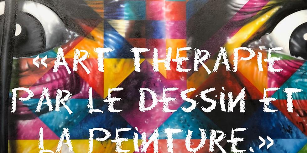 """""""Art thérapie par le dessin et la peinture."""""""
