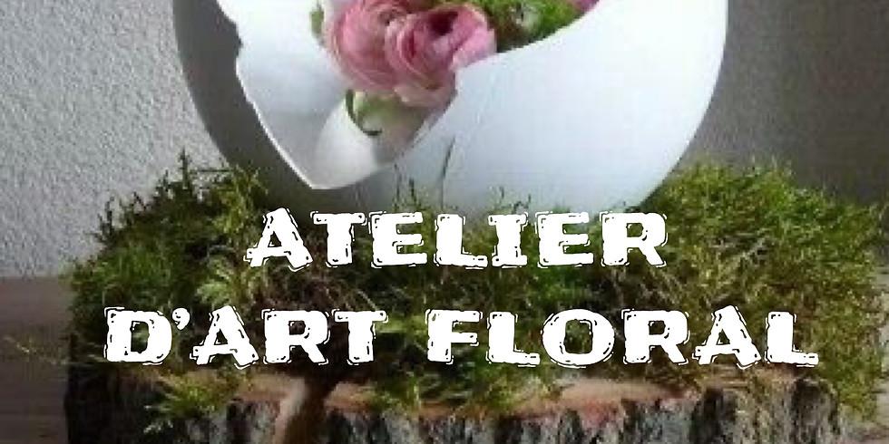 Atelier d'art floral: Milieu de Pâques dans l'œuf...