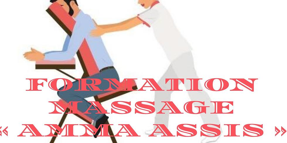 "Formation en massage ""Amma - Assis"""