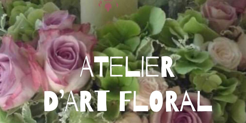 Atelier d'art floral: Milieu de table estival
