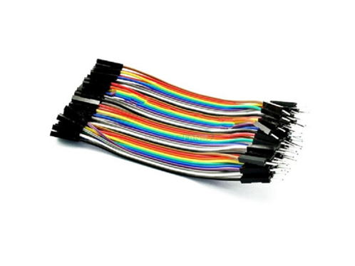 4 inch M/F jumper wires 40 pcs