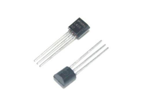 2 pcs TO-92 LM35 Precision Centigrade Temperature Sensor