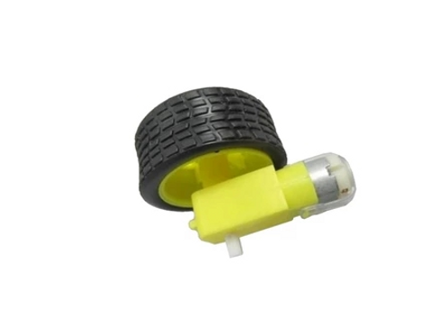 Right Angle Gear Motor and Wheel Kit