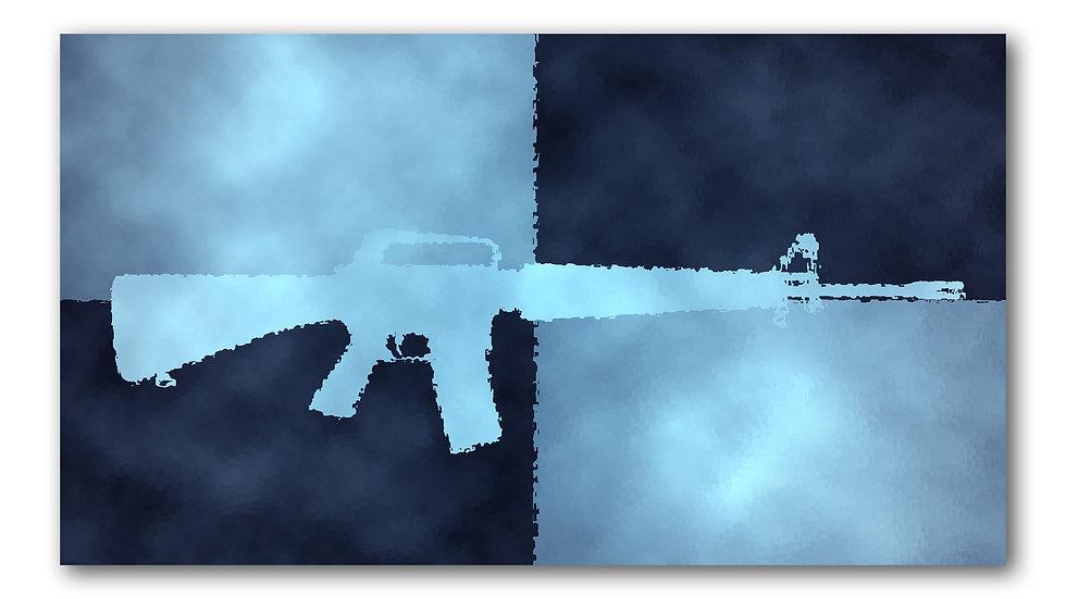 Sunken M16 Silhouette
