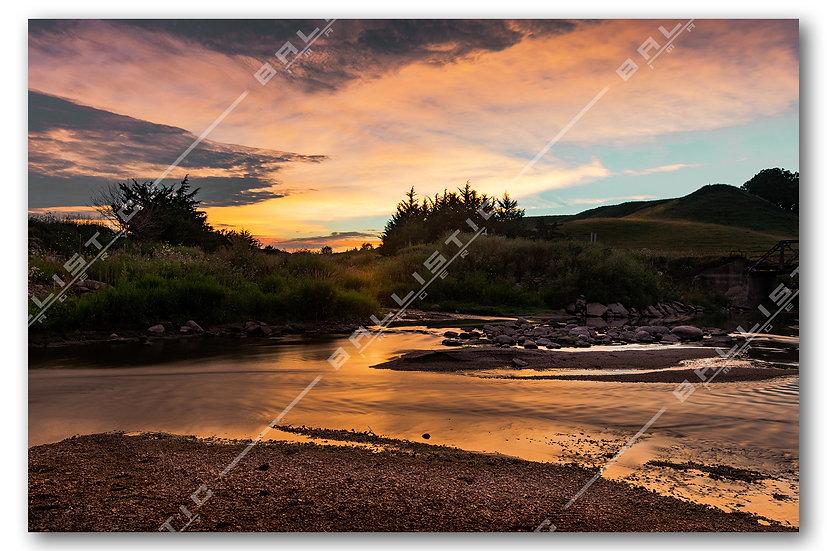 Creekbed Sunset