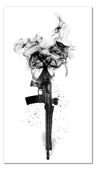 Burning Rifle