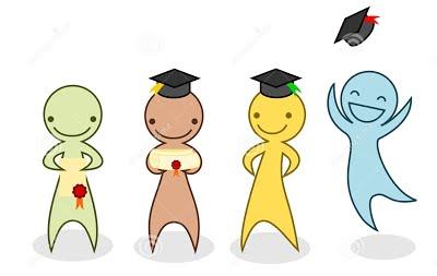cartoon-graduation-set-people-graduating-30974603