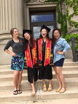 sarahs and sumeis graduation