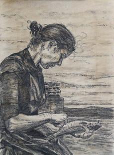 Herring Lassie Drawing #1