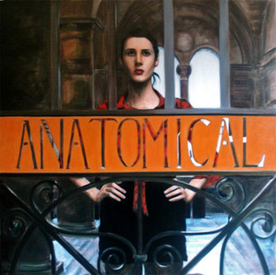 Anatomical - Oil on Canvas - 32 x 32 inches