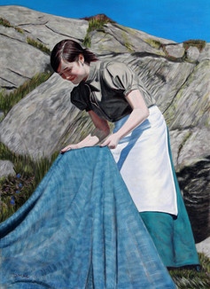 Drying the Tweed