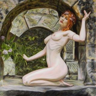 Druantia with Wild Hydrangea