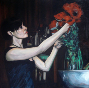 Poppies - Oil on Canvas - 30 x 30 inches