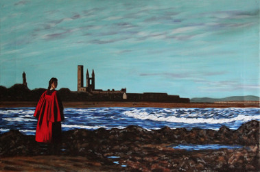 St Andrews #1 - Oil on Canvas - 36 x 24 inches