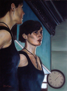 Reflection - Oil on Canvas - 24 x 18 inches