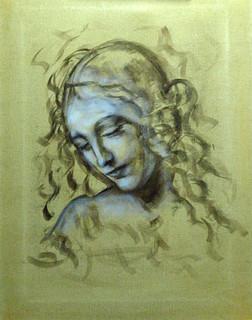 Da Vinci Head Study