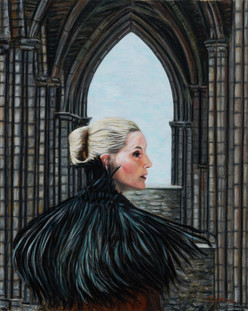 Lady Joceline - Oil on Canvas - 20 x 16 inches